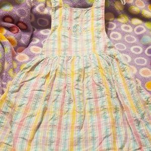 Jumper dress. Girls.